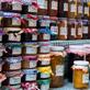 Melmelades artesanals fira Sant Ponç al carrer Hospital