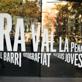 """Vinilo de presentació de la exposició """"Ra Val la Pena"""""""